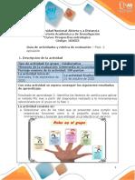 Guia de actividades y Rúbrica de evaluación -Unidad 1-Bases conceptuales para el diseño de futuro-Fase 2- Aplicaciòn