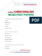 LECTURER ENGLISH MCQS PAST PAPERS.pdf