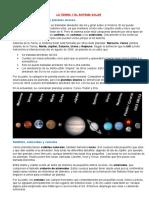 3° tarea- La tierra y el sist. Solar