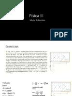 Física III (Lisrta01 Gabarito)