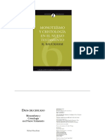 Monoteísmo y Cristología en el N.T. - Bauckham R.