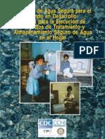 Manual para la Ejecución de proyectos de tratamiento y almacenamiento del agua