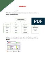 Publisher Actividad Uno
