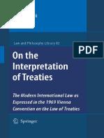 Ulf Linderfalk-On the Interpretation of Treaties