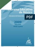 9. Panorama Educativo de México - Indicadores del Sistema Educativo Nacional..pdf