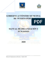 01.- MANUAL DE ORGANIZACIÓN Y FUNCIONES  PUERTO PEREZ 2020