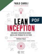 Lean Inception_ creando conversaciones hacia un producto exitoso (Spanish Edition)
