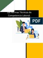 (Investigacion) Normas tecnicas de competencia laboral