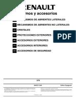 MR381KANGOO5 mec + acces