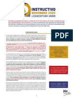 Instructivo Licenciatura en línea UNAM 2020