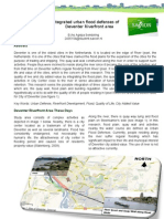 Article-Integrated Urban Flood Defences