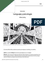 Lenguaje y psicología - Art21