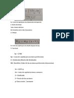 Formulas tema 1. Financiera II