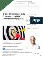 O Que é Marketing - Guia com TUDO Sobre Marketing! (2020)