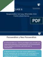 CLASE 6 - PSICOANÁLISIS