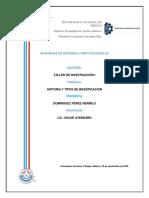Historia y tipos de Investigacion.pdf