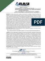 A Baixa Internacionalização das Empresas Brasileiras Uma Análise das Principais Barreiras Institucionais