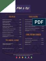 menu espanol
