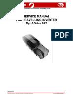 Service Manual  DynaDrive 022 2002