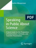 hablar en publico sobre ciencia