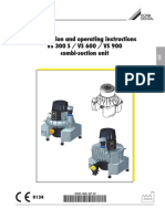 Durr VS-Series Dental Suction Unit - Installation and user manual