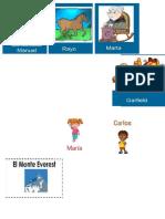 Familia de palabras primer grado