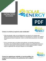 1 Lo que el vendedor solar debe conocer de su cliente