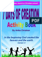 7 Days of Creation Activity Book (2011)
