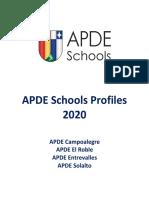apde schools profiles 2020