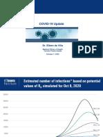 COVID-19 update   October 7, 2020