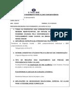 PROPOSTA NÚCLEO DE ACESSIBILIDADE - JOSÉ DE CARVALHO NETO - 2020