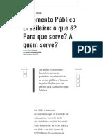 Orçamento Público Brasileiro_ o que é_ Para que serve_ A quem serve_