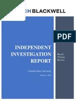 CSU Racial Climate Report