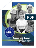 Workers_ Compensation - DWC Time Of Hire Pamphlet