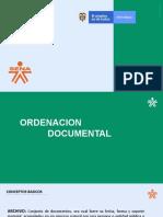 ORGANIZACION DOCUMENTAL (1) sena organizacion archivistica