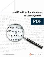 An Introduction to Metadata in DAM Systems