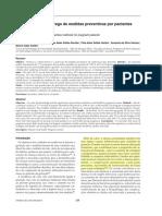 Saúde bucal e o emprego de medidas preventivas por pacientes