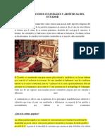 MANIFESTACIONES CULTURALES Y ARTÍSTICAS DEL ECUADOR