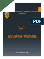 Ingeniería de Transportes c11-2019i