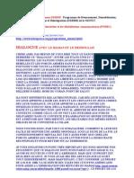 Programme DDRRR - Programme de Désarmement, Démobilisation, Rapatriement, Réinsertion et Réintégration (DDRRR)