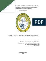 3ª CONFERENCIA-INFORME-AYUDANTES Y APOYO ESTUDIANTIL