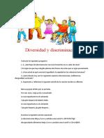 Diversidad y discriminacion
