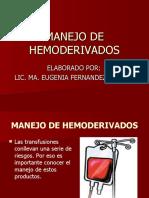 266937602-25-MANEJO-DE-HEMODERIVADOS-ppt