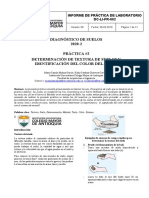 Informe de laboratorio textura de suelos