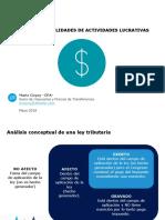 4. DELOITTE - Régimen Sobre Utilidades de Actividades Lucrativas - Mario...