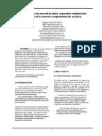 11. Informe IEEE Propuesta de la solución a implementar en físico.