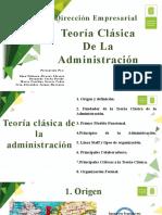 Teoría Clásica De La Administración dirección empresarial.pptx
