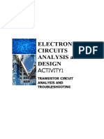 ELECTRONICS ACTIVITY 1 and ACTIVITY 2