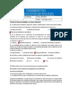 Quiz de. Auditoria II- Sept-15