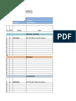 A2-OE-02-HT-ORDENANDO Y ESTANDARIZANDO LA EMPRESA - Registro de control de documentos